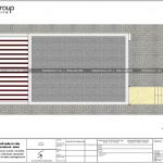 8 Mặt bằng tầng mái nhà ống hiện đại có tầng lửng tại hải phòng sh nod 0199