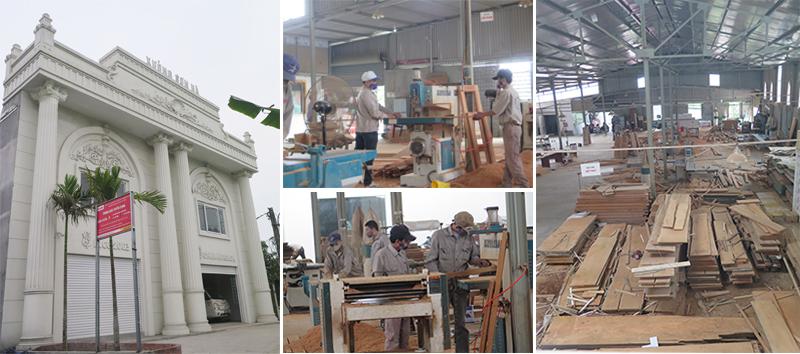 Thiết kế - Sản xuất – Thi công nội thất gỗ tại Hải Phòng