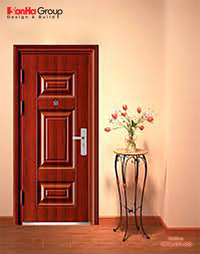 Cửa một cánh là loại cửa khá phổ biến có kích thước phong thủy 81cm x 212cm