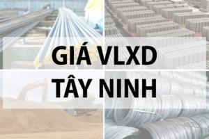 Giá vật liệu xây dựng tại Tây Ninh tháng 10/2019 8