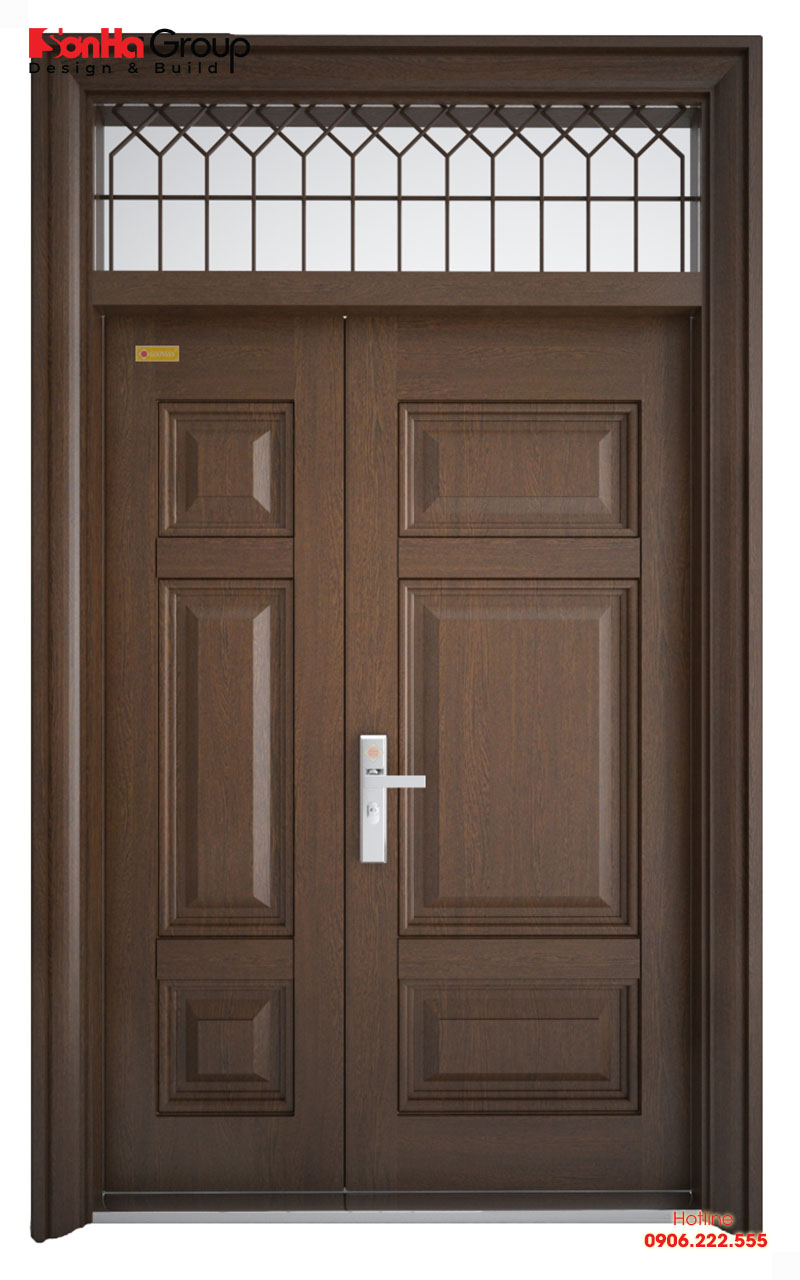 Kích thước phong thủy cho cửa 2 cánh lệch nhau chia nhiều trường hợp