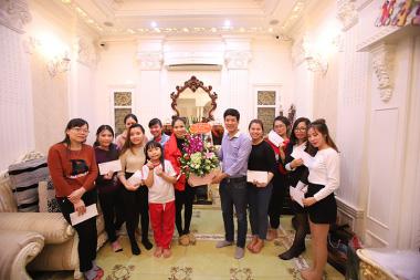 Kỷ niệm 8/3 Sơn Hà Group: Giản dị và ấm áp bản sắc chị em phụ nữ Sơn Hà 4
