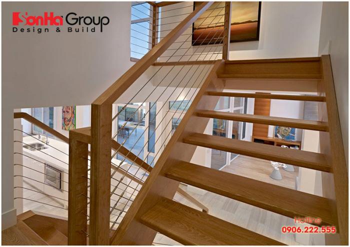 Nguyên tắc phong thủy cũng rất cần được chú trọng trong thiết kế cầu thang