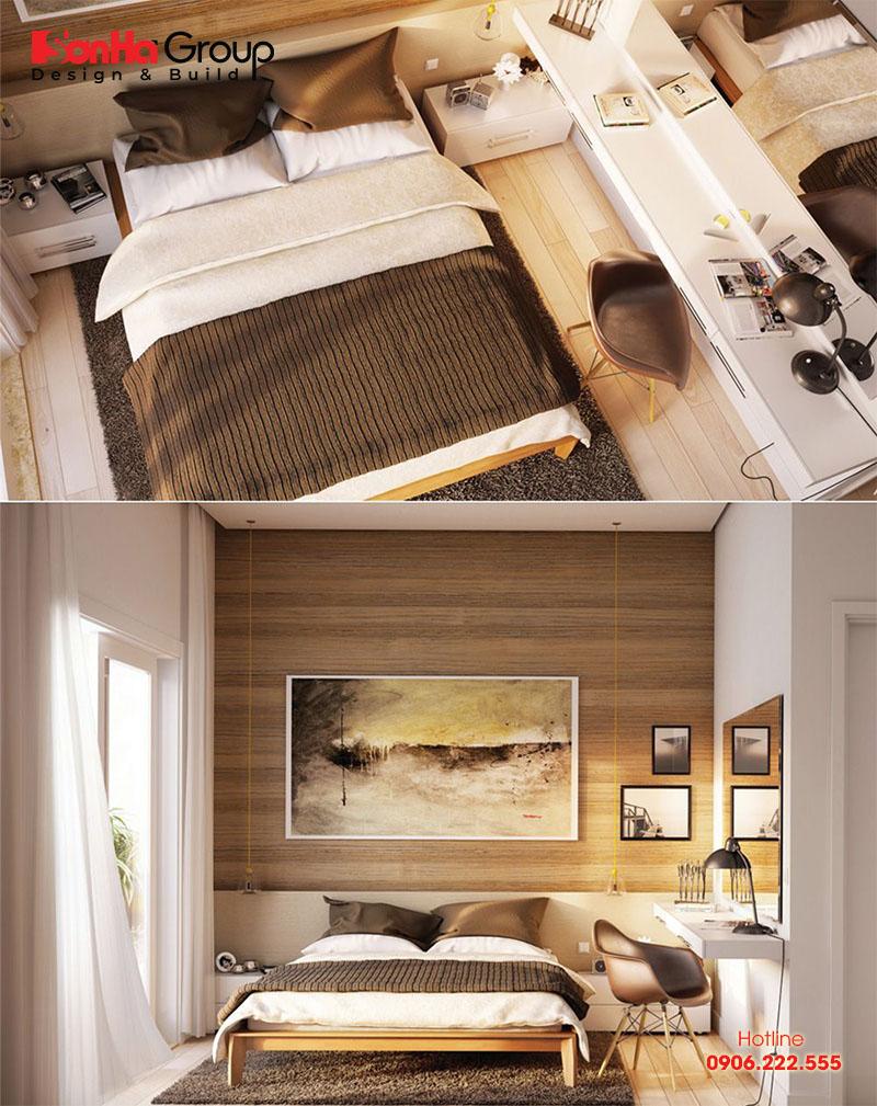 Thêm cách bố trí nội thất cho phòng ngủ đẹp đơn giản diện tích 5m2