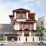 1 Thiết kế biệt thự hiện đại đẹp tại quảng ninh sh btd 0074