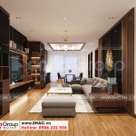 1 Thiết kế nội thất phòng khách căn hộ đẹp