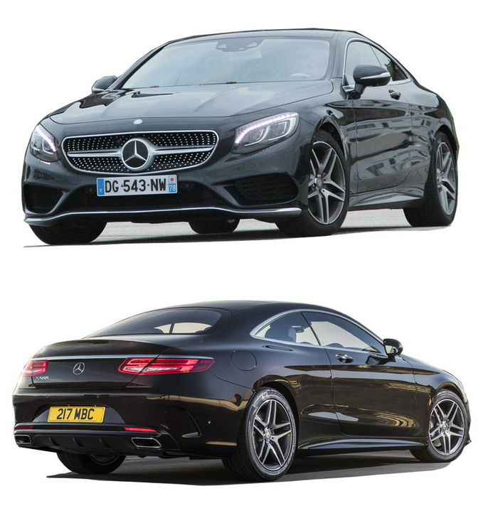 10.kich thuoc xe Mercedes benz S 500 coupe