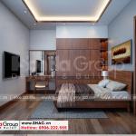 11 Mẫu nội thất phòng ngủ 1 biệt thự 3 tầng kiểu hiện đại tại hải phòng sh btd 0075