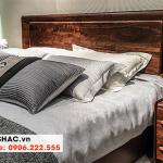 12 Bộ giường gỗ tự nhiên độc đáo