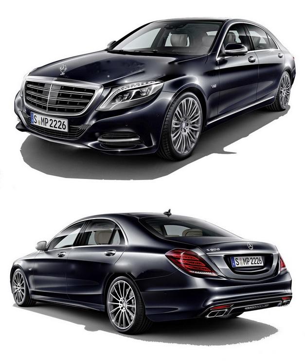 12.kich thuoc xe Mercedes benz S 600 maybach