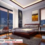 13 Cách trang trí nội thất phòng ngủ 3 biệt thự hiện đại đẹp tại hải phòng sh btd 0075