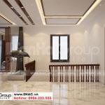 15 Thiết kế nội thất sảnh thang biệt thự hiện đại 3 tầng tại hải phòng sh btd 0075