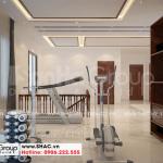 16 Mẫu nội thất phòng tập biệt thự hiện đại mặt tiền 12,3m tại hải phòng sh btd 0075