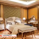 18 Bộ giường ngủ bọc da tân cổ điển cao cấp