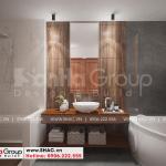 18 Cách bố trí nội thất phòng tắm biệt thự mái thái phong cách hiện đại tại hải phòng sh btd 0075
