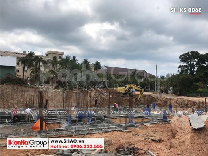 Khách sạn tân cổ điển 3 sao tại Phú Quốc đã được khởi công xây dựng từ 2019