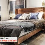 20 Kiểu giường gỗ tự nhiên sang chảnh