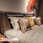 22 Kiểu giường ngủ bọc da đẹp và chất lượng