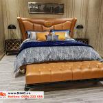 27 Mẫu giường ngủ bọc da đẹp và chất lượng
