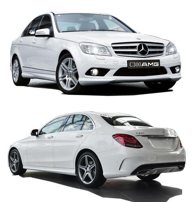 3.kich thuoc xe Mercedes benz C300