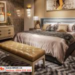 33 Mẫu giường ngủ bọc da thật kiểu hiện đại