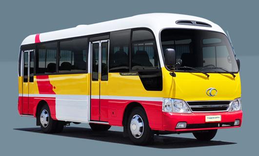4 xe buyt thaco city 40 cho