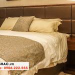 43 Kiểu giường ngủ bọc da sang trọng