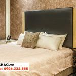 44 Bộ giường ngủ bọc da kiểu hiện đại