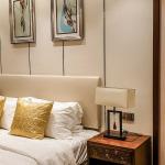 52 Kiểu giường ngủ bọc da sang chảnh kiểu hiện đại