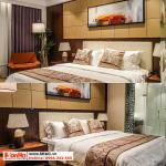 55 Kiểu giường ngủ bọc da sang trọng hiện đại