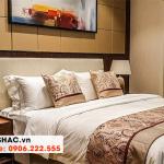 56 Bộ giường ngủ bọc da thật kiểu hiện đại