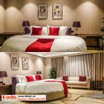 57 Mẫu giường ngủ bọc da chất lượng cao