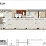 6 Bản vẽ tầng 1 khách sạn 3 sao tại phú quốc sh ks 0068