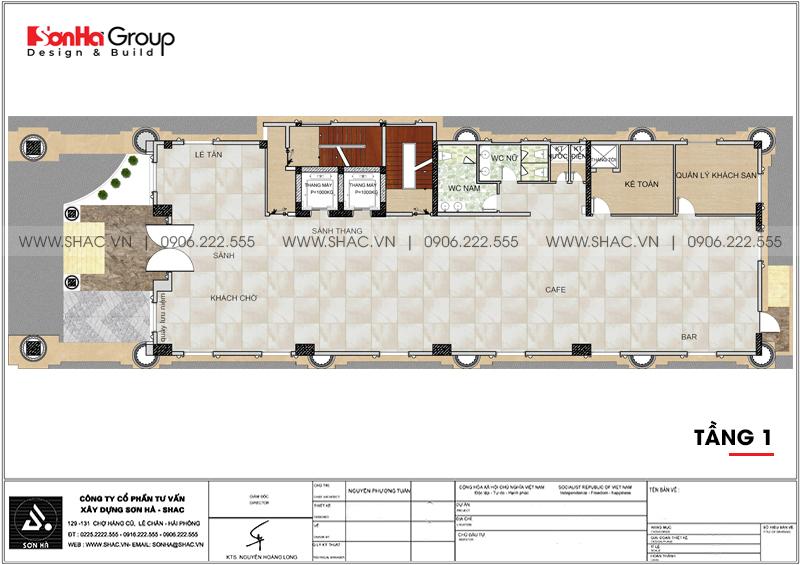 Thiết kế khách sạn 3 sao tân cổ điển 9 tầng tại Phú Quốc - SH KS 0068 3