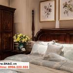 6 Bộ giường ngủ gỗ tự nhiên độc đáo