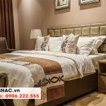 61 Kiểu giường ngủ bọc da phong cách tân cổ điển