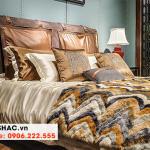 68 Kiểu giường ngủ bọc da chất lượng cao