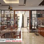 7 Không gian nội thất phòng bếp ăn biệt thự hiện đại 3 tầng tại hải phòng sh btd 0075