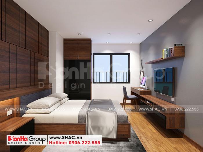 Mẫu phòng ngủ đẹp căn hộ chung cư 100m2 3 phòng ngủ tại Hà Nội