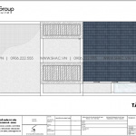 8 Bản vẽ tầng mái nhà ống hiện đại đẹp tại hà nội sh nod 0202