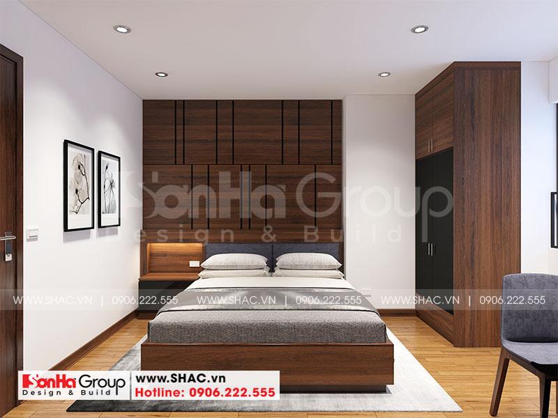 Thiết kế nội thất căn hộ chung cư 100m2 3 phòng ngủ hiện đại tại Hà Nội 8