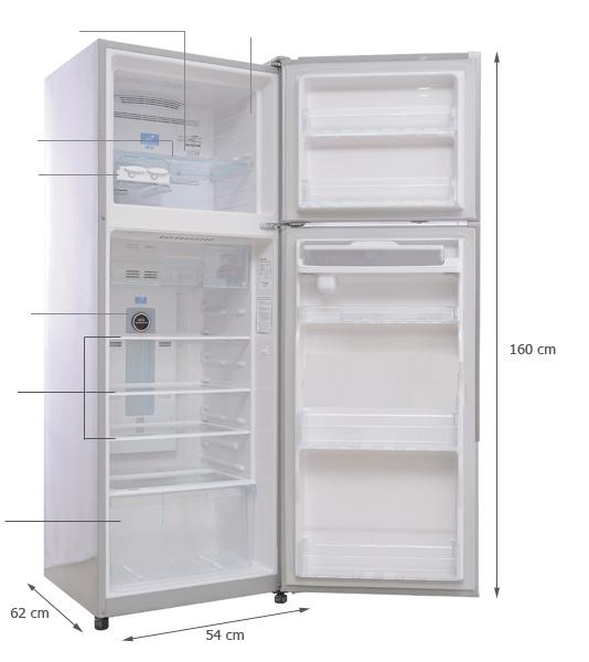 Kích thước tủ lạnh các loại mới nhất [month]/[year] 1