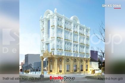 BÌA mẫu khách sạn 3 sao tân cổ điển 9 tầng tại phú quốc sh ks 0068