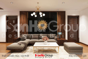 BÌA thiết kế nội thất kiểu căn hộ kiểu hiện đại