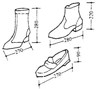 Kích thước các loại giày (2)