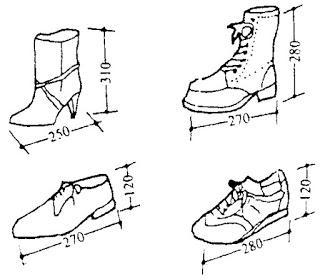 Kích thước các loại giày (3)