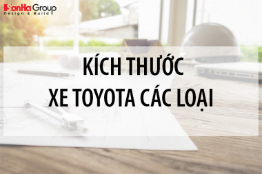 Kích thước xe Toyota các loại mới nhất [month]/[year] 4