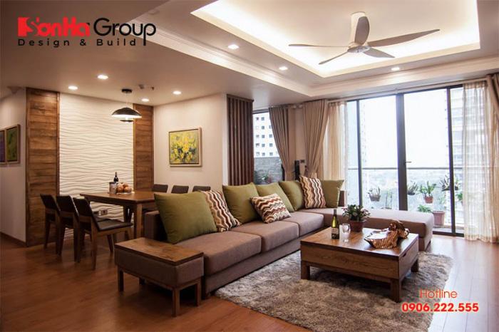 Nên chọn loại gỗ tự nhiên nào để làm nội thất phòng khách?