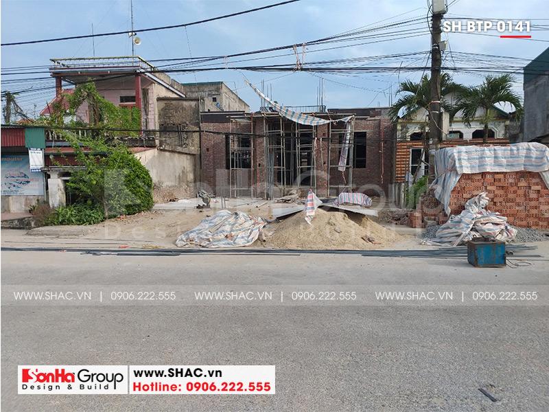 Mẫu biệt thự tân cổ điển 2 tầng diện tích 136,62m2 tại Thái Bình – SH BTP 0141 4