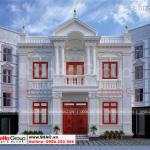 1 Thiết kế biệt thự tân cổ điển đẹp tại thái bình sh btp 0141